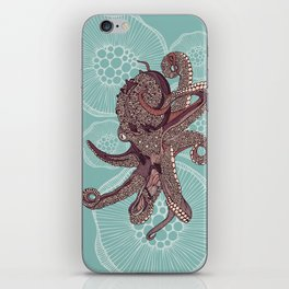 Octopus Bloom iPhone Skin