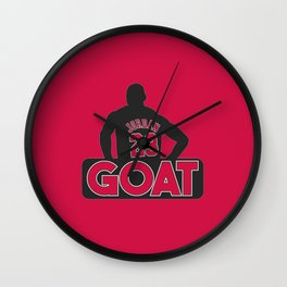 Jordan 23 Goat Wall Clock