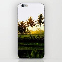 Ubud Twilight iPhone Skin