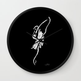 The Swan Wall Clock