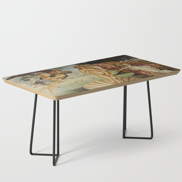 The Birth of Venus by Sandro Botticelli Coffee Table