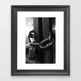 Trapped Mind Framed Art Print