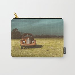 Lost In Time Truck Travel Carry-All Pouch