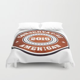 Conservative American Duvet Cover