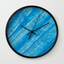 Acrilic Blue Wall Clock