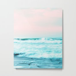 Sun. Sand. Sea. #society6 #decor #buyart Metal Print