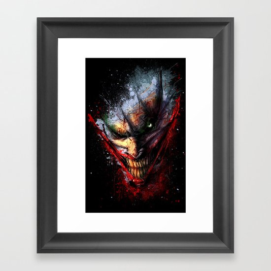Madness is the Emergency Exit Framed Art Print