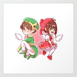Cardaptor Sakura Art Print