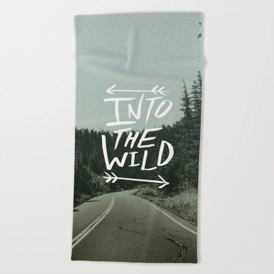 Into the Wild II Beach Towel