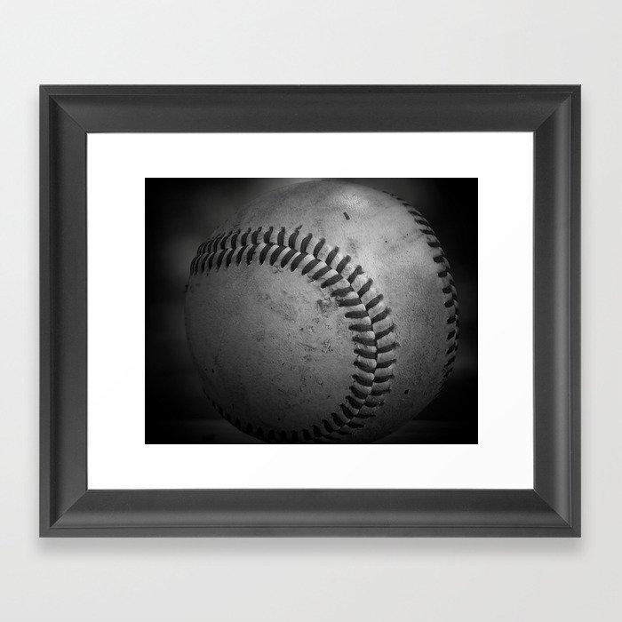 Baseball Gerahmter Kunstdruck