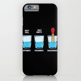 Musical Instrument - Bassoon Player - Music  Gift iPhone Case