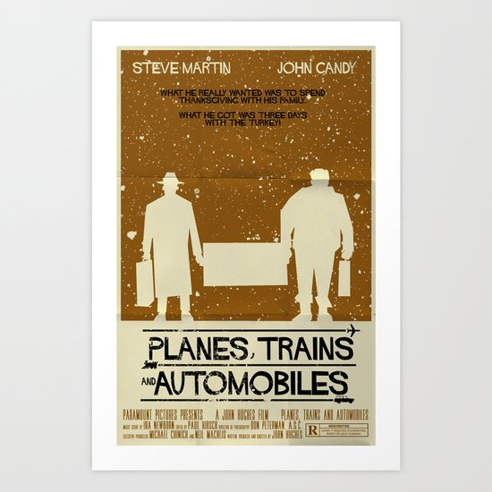 Planes, Trains and Automobiles Art Print