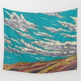 OLD TIMEY CLOUDSCAPE Wall Tapestry