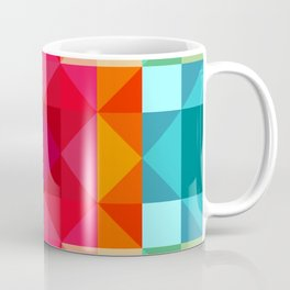 Abstract Geometric Flower Power Coffee Mug