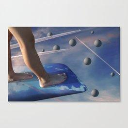 Dusk on Planet Euphoria Canvas Print