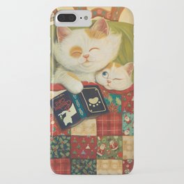 The cozy moment iPhone Case