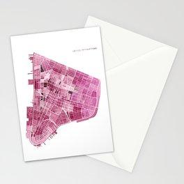 Lower Manhattan, New York Stationery Cards