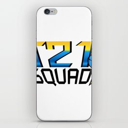 T21 Squad Down Syndrome Awareness iPhone Skin