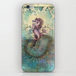 The Seahorse Diary iPhone Skin
