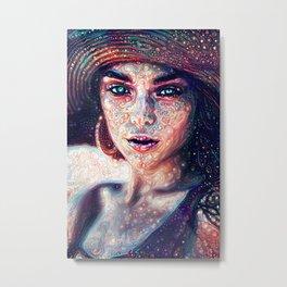 Dreamy Portrait I Metal Print