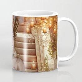 Wonderful fairy with headdress Coffee Mug