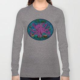 The Krunk Kraken  Long Sleeve T-shirt