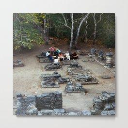 Coba (Maya Ruins) Metal Print