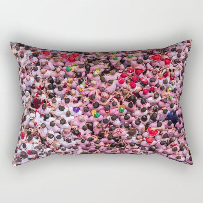 Spain Espagne Pamplona Rectangular Pillow