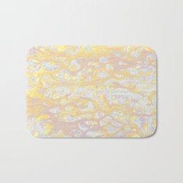 Baesic Wet Paint Gold Bath Mat