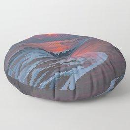 Summer's Passing Floor Pillow