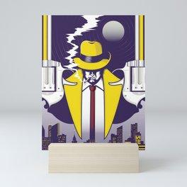 Night Smoke Mini Art Print