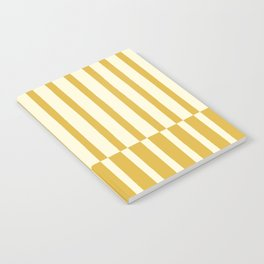 Dandelion Stripes Notebook