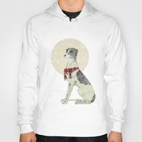 greyhound Hoodies featuring GREYHOUND by HOLO-HOLO