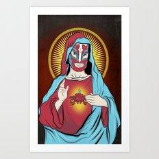 Jesus Santos Art Print