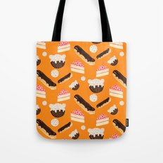 sweet things (on orange) Tote Bag