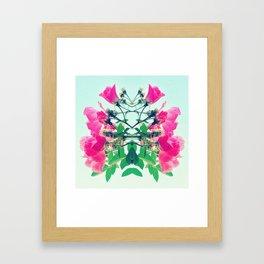 Como La Flor. Framed Art Print