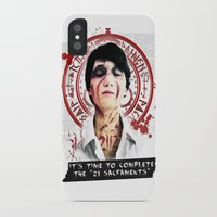 "silent hill iPhone & iPod Cases featuring Silent Hill - It's time to complete the ""21 Sacraments"" by Emme Gray"
