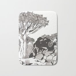 Quiver Tree & Rocks - Namibia Bath Mat