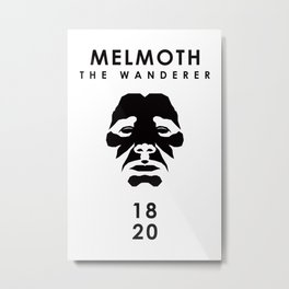 A Century of Horror Classics :: Melmoth the Wanderer Metal Print