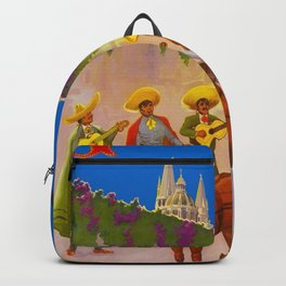 mexico, guadalajara poster, mexico poster, guadalajara print, mexico print Backpack