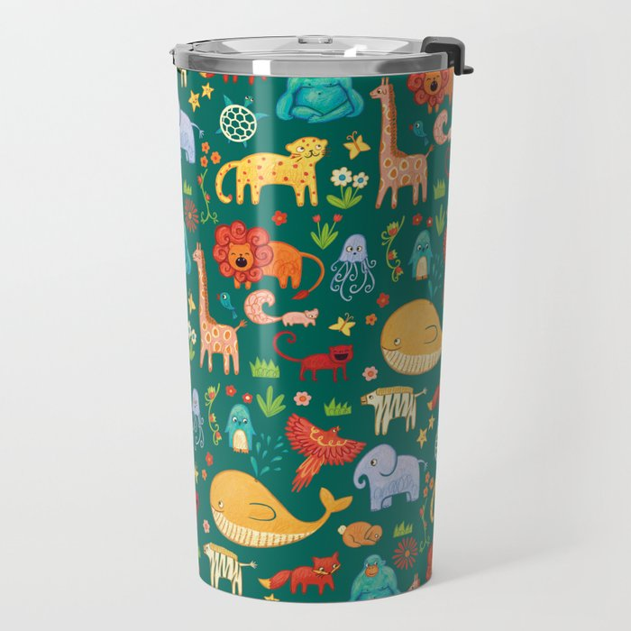 Animals Travel Mug