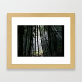 Encounters of the Vermont Kind Framed Art Print
