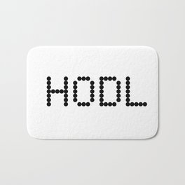 HODL YOUR CRYPTOCURRENCY BITCOIN LITECOIN RIPPLE ETHEREUM Bath Mat
