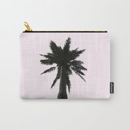 Pink Palm Tree Carry-All Pouch