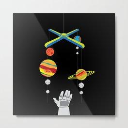 Space mobile Metal Print