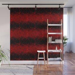 Red, black, glitter, confetti, sequins, red glitter 2 Wall Mural