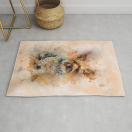 Yorkshire Terrier Art Rug