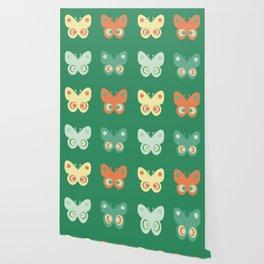 Pastel butteflies Wallpaper