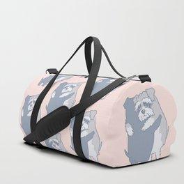 Schnauzer  Hugs Duffle Bag