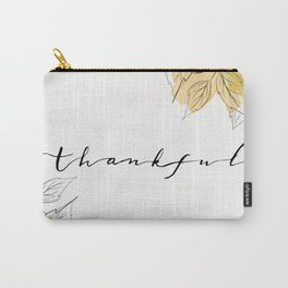 THANKFUL LEAFS Carry-All Pouch